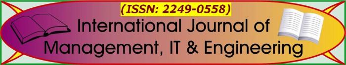 INTERNATIONAL JOURNALS OF MULTIDISCIPLINARY RESEARCH ACADEMY